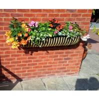 """Beeston"" Rural Wall Mounted ""Hay feeder"" Style Garden Planter"