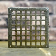 """Square Cast Iron Air Cover -  5.5"""" x 5.5"""""""