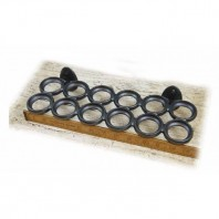 Cast Iron Wall Mounted Egg Holder Tray