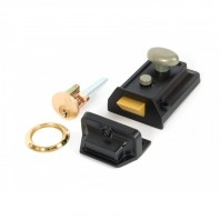 """Topham"" Night Latch with Traditional Case & Rim Cylinder"