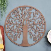 """Tree of Life"" Circular Wall Art - 54cm"