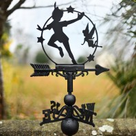 Flying Boy and Fairy Weathervane