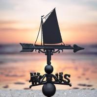 Norfolk Wherry Sail Boat Weathervane