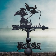 The Fisherman & The Witch Weathervane