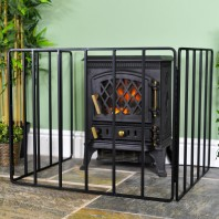 """Inglewood Croft"" Heavy Duty Bespoke Fire Guard"