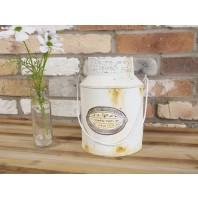 """Longford"" Shabby Chic Milk Churn Planter"