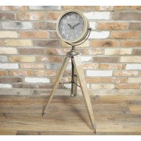 French Inspired Free Standing Clock on Tripod