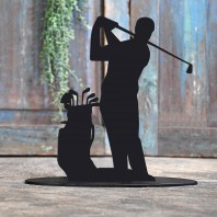 Golfer Iron Door Stop