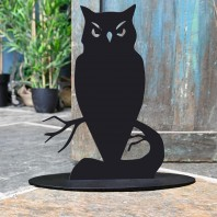 Owl Iron Door Stop