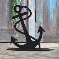 Anchor Iron Door Stop