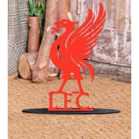 Red Liver Bird 'L.F.C' Door Stop
