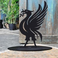 Liver Bird Iron Door Stop