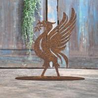 Liver Bird Rustic Iron Door Stop