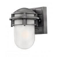 """Douglas"" Outdoor Platinum Wall Lantern"