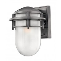 """Douglas"" Large Outdoor Platinum Wall Lantern"