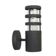 """Kinross"" Modern Black Wall Lantern"