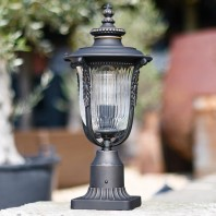 Traditional Ornate Pillar Light 50cm