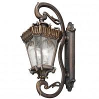 """Cotswold"" Extra Large Grand Ornate Bronze Wall Lantern"