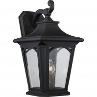 """""""Hamstead"""" Large Black Wall Lantern"""