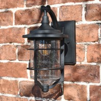 """Marine"" Small Nautical Hanging Wall Light"