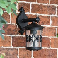 Scrolled Design Traditional Top Fix Wall Lantern