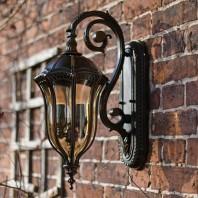 """""""Edmondale"""" Medium Ornate Wall Lantern"""