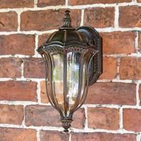 """""""Edmondale"""" Small Ornate Wall Lantern"""