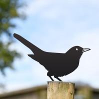 Blackbird Fence Topper- Black