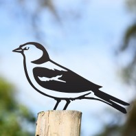 Chaffinch Fence Topper - Black