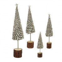 Set of 4 Metal Bell Trees