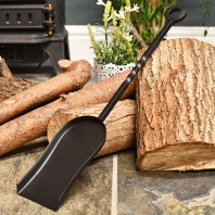 Blacksmith Style Fireplace Coal Shovel