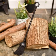 Traditional Blacksmith Fireplace Brush