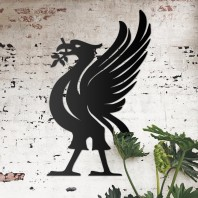 Liver Bird Steel Wall Art - Large