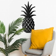 Pineapple Steel Wall Art