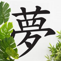 """Kanji Dream Symbol"" Wall Art"