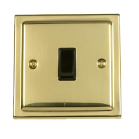 Victorian Brown Single Light Switch