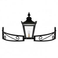 Black Victorian Bow Bracket Light