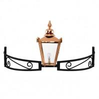 Copper Victorian Bow Bracket Light