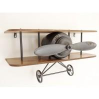 'Wilbur' Vintage Aeroplane Shelf