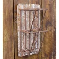 Vintage Barn-Style Wine Holder