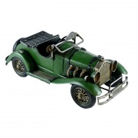 Vintage Model Car In Green