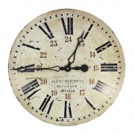 "Vintage ""Glasgow"" Wall Clock"