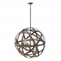 """Nebulous"" Vintage Iron Sphere Hanging Light -  47cm"