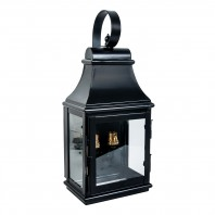 """Warrington"" Black Wall Lantern"