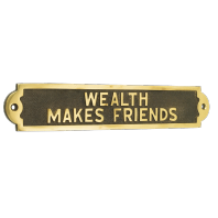 Wealth Makes Friends