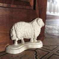 Sheep White Door Stops