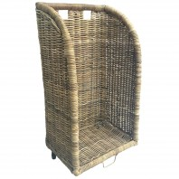 Wicker Log Trolley