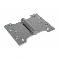 Wide Pewter Parliament Hinge Pair