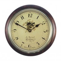 """Wild Flower"" Traditional Wall Clock"