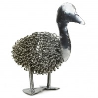 Wire Duck Sculpture